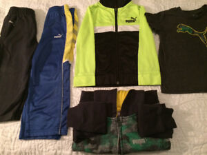 Large lot of 2T boys clothing