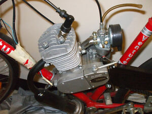 """49cc bike ready to go and """"Giant"""" frame ready to support motor Stratford Kitchener Area image 3"""