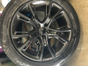 Jeep Grand Cherokee Winter Tire and Rims