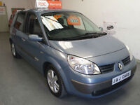 2006 56 reg RENAULT SCENIC 1.4cc DYNAMIQUE - 1 FORMER KEEPER - SERVICE HISTORY