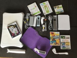 140$: Wii + Wii Fit Just Dance, Sports, Workout etc..