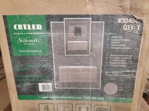 NEW Cutler Wallhung Vanity sold by S. Wilson Bailiffs