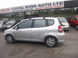 2007 Honda Fit CERTIFIED AND E TESTED Hatchback