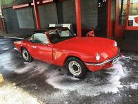 1976 triumph spitfire 1500 Mot'd classic project