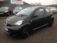 09 TOYOTA AYGO BLACK 1.0 VVT-I 3DR CHEAP INS & £20 TAX