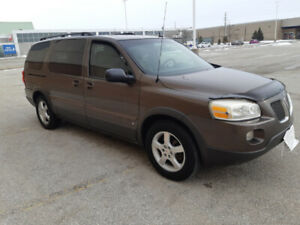 REDUCED - 2008 Pontiac Montana Extended Version for Sale