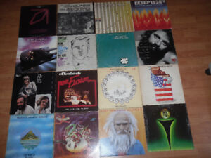 prog and art rock LPs - new Zappa titles added