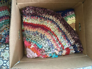 Hand made woven mats