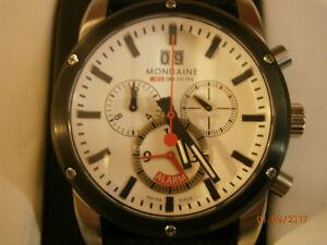 Mondaine Alarm Chronograph (Swiss made)