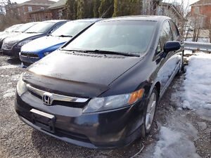 2008 HONDA CIVIC EX-L SEDAN CERTIFIED & ETESTED NEW TIRES