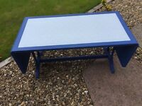 Upcycled Drop Leaf Coffee Table
