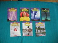 Primary/Jr science Vocabulary readers on Weather