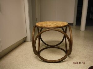 Wicker Footstool Windsor Region Ontario image 1