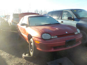 1996 Dodge Neon Now Available At Kenny U-Pull Cornwall Cornwall Ontario image 1