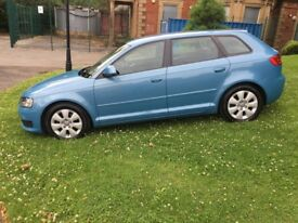 Audi A3 1.9 TDI 2008 New Facelift Model Excellent Condition long mot service history