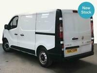2017 Vauxhall Vivaro 2700 1.6CDTI 95PS ecoFLEX Short Wheelbase L1H1 Low Roof Van