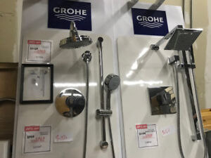 High end Bathroom shower kit from $150