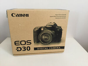 Used Canon EOS-D30