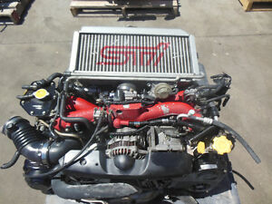 2001 2002 Subaru Wrx Sti Version 7 Engine EJ207 VF30 Turbo