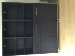 IKEA (Besta) wall unit. Living room storage unit.