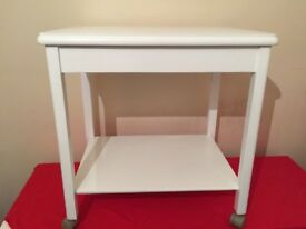 Tea trolley work station hairdressers trolley wedding stand