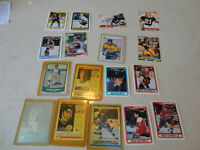 1990's Sports cards 14 total - Hockey, Baseball & Football