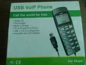 USB VOIP PHONE ....for skype Windsor Region Ontario image 1