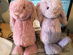Two medium Jellycat