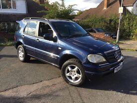 Mercedes ml270 Cdi blue