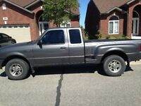 2002 Ford Ranger cloth Pickup Truck