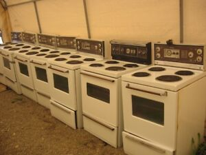 Apartment size whites electric stoves (24inch)  $40 Each
