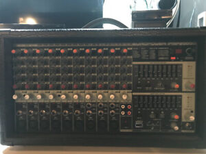 Behringer Europower 2000 PA mixer and Peavey Speaks