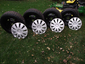 STUDDED WINTER TIRES WITH WHEELS