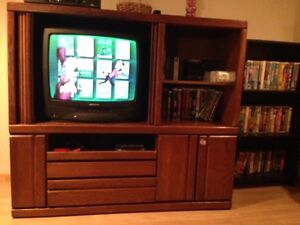 solid Wood tv stand, table, Bunk Beds, etc