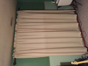 Beige Curtains like new
