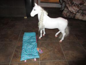 horse for 18 inch my life or mapalea dolls. my life sleeping bag