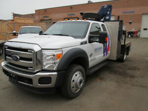 2014 Ford F-550 Picker Truck