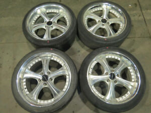 JDM Speed Star Vienna Courages Staggered Wheels 5X114.3