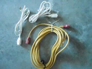 3 ELECTRICAL CORDS
