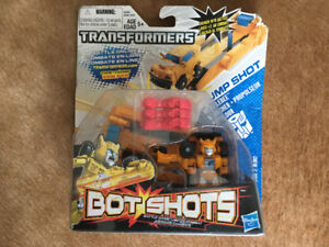 Transformers Bot Shots Bumblebee Launcher Brand New 2 Available