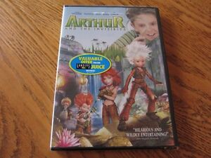 """Arthur And The Invisibles"" - Kid's DVD - Still In Wrapper!"