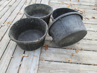 Horse, Cattle  Livestock Feed Tubs @ 4 for $30.