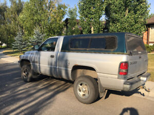 Discounted price next 20 hours. 1998 Dodge Ram 1500 - Manual