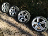 "FS: BMW 18"" OEM style 189 with Bridgestone winter tires"
