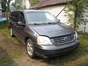 SOLD - 2004 FORD FREESTAR AS IS
