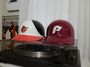 Vintage Laich Baseball Helmet Fan/Souvenir Wear Phillies Orioles