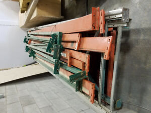 Warehouse racking for sale.