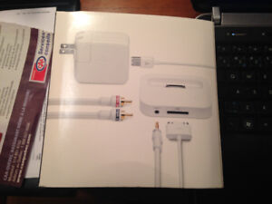 Apple iPod Stereo Connection Kit w/ Monster cable