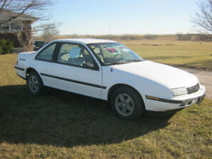 1988 Chevy Beretta GT. Western car- no salt
