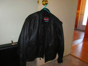 manteaux de cuir Harley Davidson